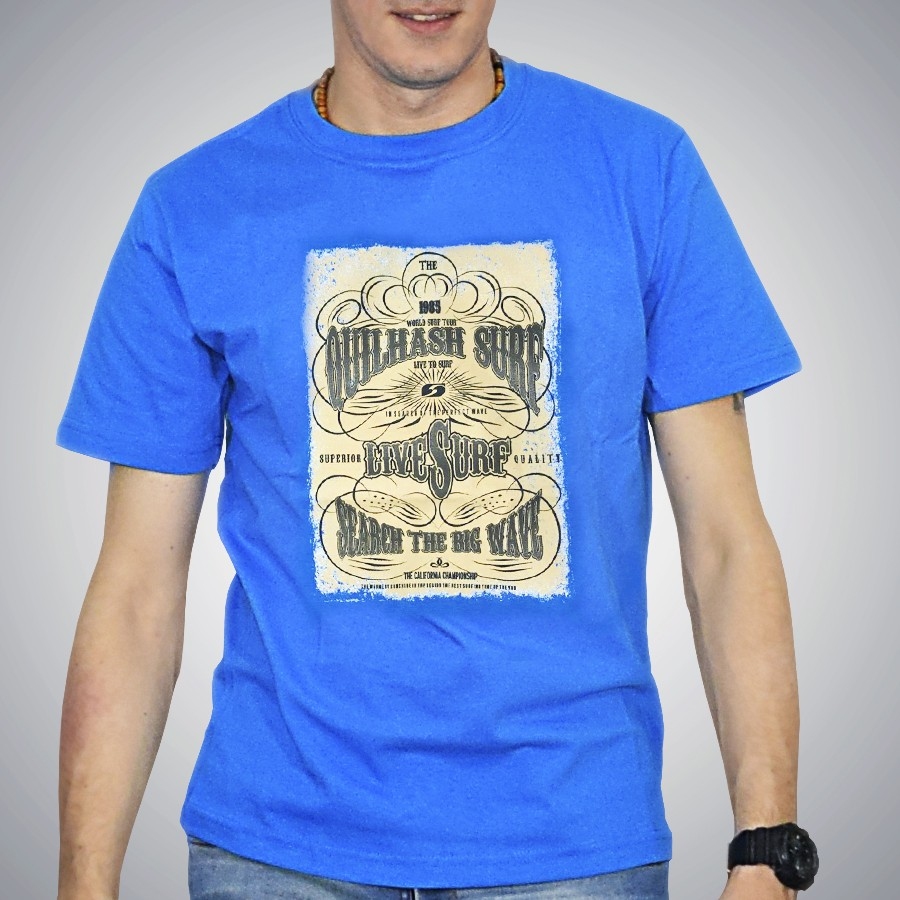 Remera Quilhash Search the big wave